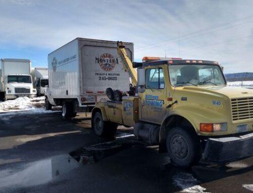 Truck Towing in Laurel Montana