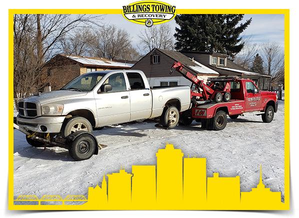 Light Duty Towing in Billings Montana