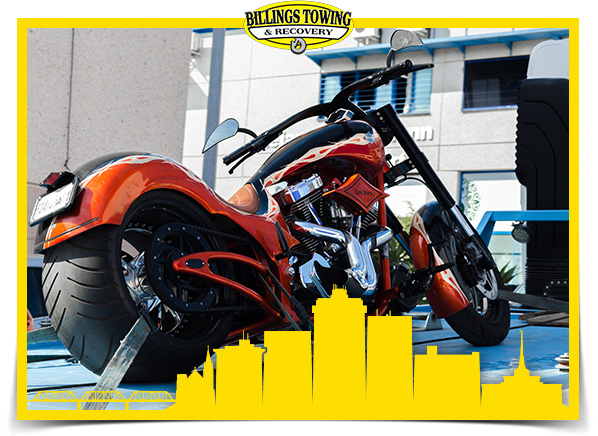 Motorcycle Towing in Billings Montana