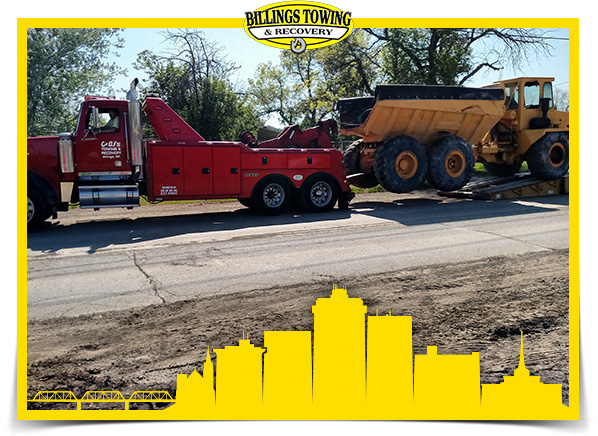 Heavy Duty Towing in Billings Montana